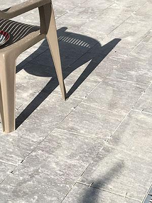 refection terrasse beton en cours